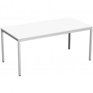 Gera Schreibtisch Bürotisch 4 Fuß Eco 1600x800x720mm versch.Dekore