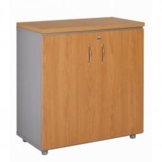 Büroschrank Ablageschrank 70 cm 2 Türen 1 Fachboden