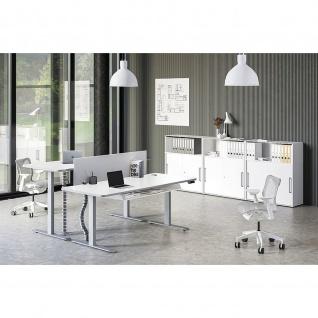 Kerkmann Schreibtisch Sitz-Stehtisch Move 3 Premium 200x100x72-121cm elektr. höhenverstellbar mit Memoryfunktion