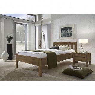 Massivholz Komfortbett Seniorenbett Jasmine 420.03 ohne Fußteil