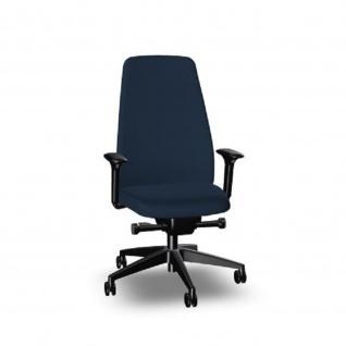 Interstuhl Bürodrehstuhl Dehrstuhl EVERYis1 Sitz hoch und Rücken gepolstert