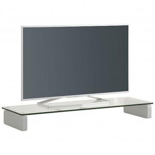 Maja TV Board Klarglas 16129900 Maße 1100 x 122 x 350 mm