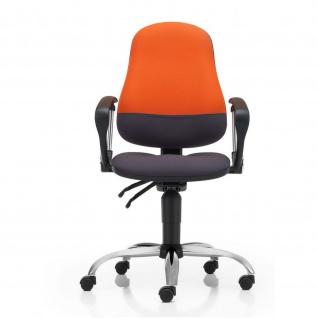 Bürodrehstuhl PUNKT-ERGO-MIX ST02-CR GTP9-CR ERGON-UP-BL BA-SM