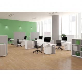 Gera Schreibtisch Bürotisch C Fuß Pro 1000x800x720mm verschied. Dekore