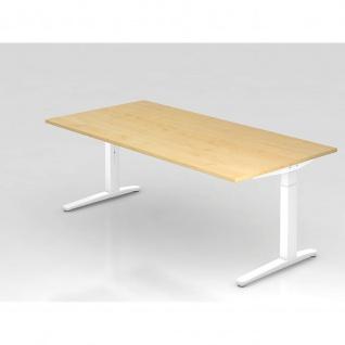 Büro Schreibtisch Stehtisch höhenverstellbar 200x100 cm Modell XB2E