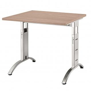 Büro Schreibtisch 80x80 cm Modell FS08 höheneinstellbar