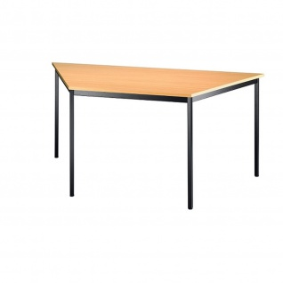 Konferenztisch Meeting V Modell Trapeztisch VT16 160x69 cm