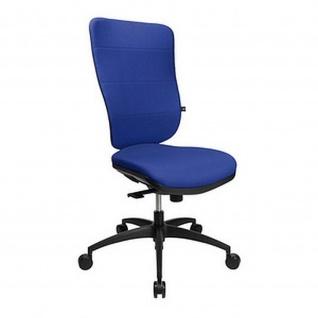 Topstar Bürodrehstuhl Soft Pro 100 blau