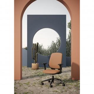 Kastel Bürodrehstuhl Drehstuhl Key Smart Kunstleder Sitz und Rücken gepolstert mit Lumbalstütze
