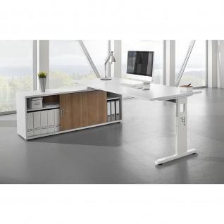 Büro Schreibtisch zur Auflage auf Sideboard 160x80 cm Modell OSE16
