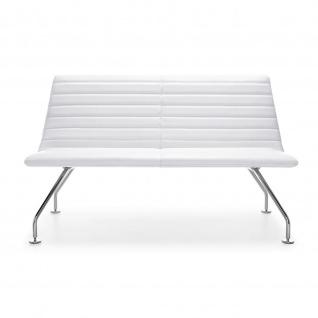 Lounger Sofa 2-Sitzer Smody chrom Venyl 4 Fuss
