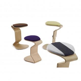 Ercolino - small mit flachem Sitzpolster Oberfläche Buchefurniert geölt