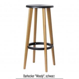 PAPERFLOW Barhocker WOODY Buchegestell 2er Set
