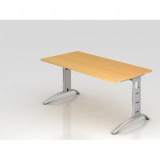 Büro Schreibtisch 160x80 cm Modell FS16 höheneinstellbar