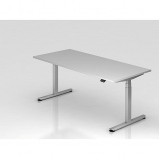 Büro Schreibtisch Stehtisch höhenverstellbar 180x80 cm Modell XDLB19 mit Bluetooth