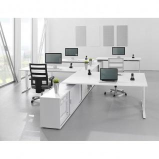 Büro Schreibtisch zur Auflage auf Sideboard 180x80 cm Modell NSE19