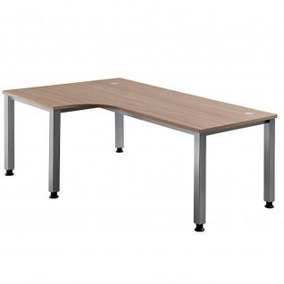Büro Schreibtisch 200x120 cm Winkelform Modell QS82