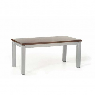 Mayer Tisch Esstisch XCite Dining 3057, Gestell perlsilber, Dekor Tischplatte