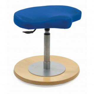 Mayer 1169 Kinder Pendelhocker mit ergonomisch geformtem Sitz Stoff