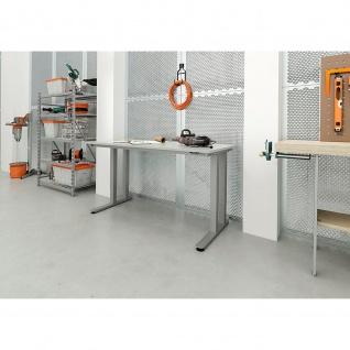 Schwerlast-Tisch180 x 80 mit Tast-Schalter Höhenverstellbar