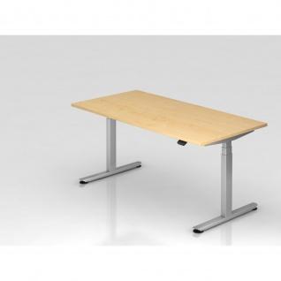 Büro Schreibtisch Stehtisch höhenverstellbar 160x80 cm Modell XDLB16 mit Bluetooth