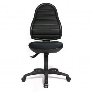 Bürodrehstuhl Flex Point schwarz mit Softpolster -Express 13 48-