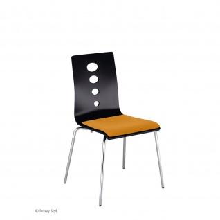 Bistrostuhl Besucherstuhl Objektstuhl Lantana WOOD Seat Plus CR