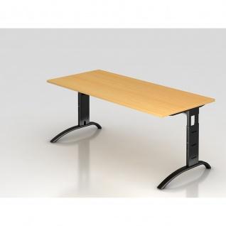 Büro Schreibtisch 180x80 cm Modell FS19 höheneinstellbar