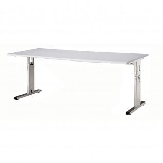 Büro Schreibtisch 180x80 cm Modell OS19 höheneinstellbar