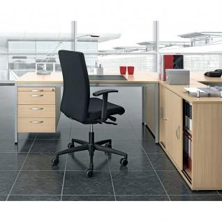 Gera Schreibtisch Bürotisch 4 Fuß Eco mit Hängecontainer abschließbar 1600x800x720mm
