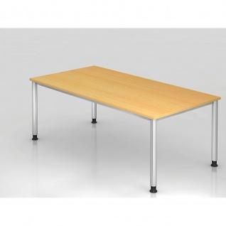 Büro Schreibtisch 200x100 cm Modell HS2E