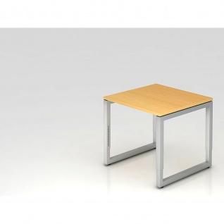 Büro Schreibtisch 80x80 cm Modell RS08 mechanische Höheneinstellung
