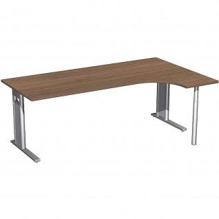 Gera PC-Schreibtisch Bürotisch C Fuß Pro rechts 2000x800x1200x720mm