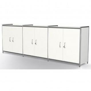Kerkmann Sideboard 7916 ARTLINE 2 OH 236x38x78 cm mit 3 Vorbautüren