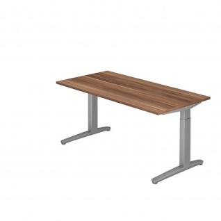 Büro Schreibtisch Stehtisch höhenverstellbar 160x80 cm Modell XB16