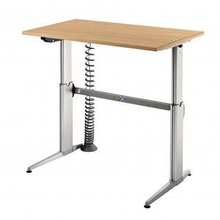 Hammerbacher Büro Schreibtisch Stehtisch höhenverstellbar 120x80 cm Modell XE12