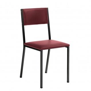 Edler Stuhl Esszimmerstuhl Sienna 1 schwarz