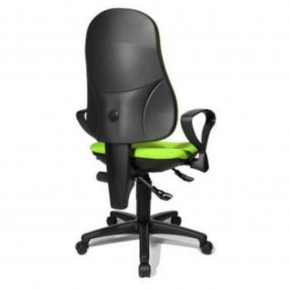 Bürodrehstuhl Point 70 Spezial-Bandscheibensitz mit Beckenstütze, apfelgrün