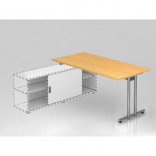 Büro Schreibtisch zur Auflage auf Sideboard 160x80 cm Modell NSE16