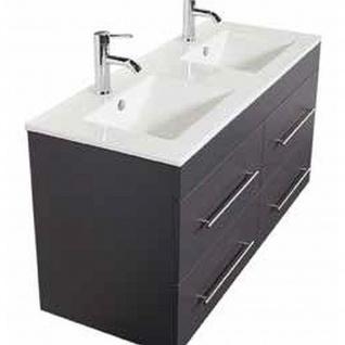 Badmöbel Badezimmer Waschbecken Waschplatz Argos 120