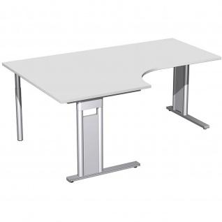 Gera PC-Schreibtisch Bürotisch C Fuß Pro links 800/1800 x800/1200x720mm