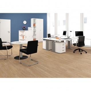 Gera Schreibtisch Bürotisch C Fuß Pro 1200x800x720mm verschied.Dekore