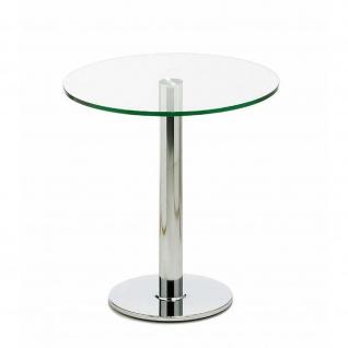 Mayer Tisch Glastisch myPerry 3026 chrom-Glas