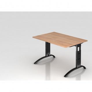 Büro Schreibtisch 120x80 cm Modell FS12 höheneinstellbar