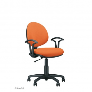 Bürostuhl Drehstuhl Arbeitsstuhl Smart Black mit Armlehnen