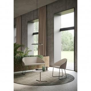 Kastel Design Lounge Sofa Couch Kameo Kufengestell Stoffbezug Cura