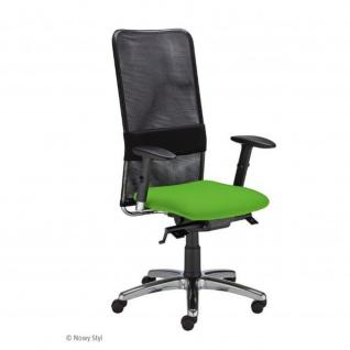 Bürodrehstuhl Drehstuhl C-NET HB hoher Netzrücken, Sempre / Lucia recyclingfähig