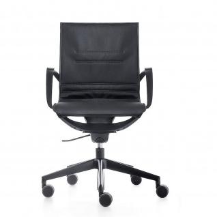 Kastel Key Line Plus Drehstuhl Bürodrehstuhl höhenverstellbar Sitz und Rücken mit Netzbespannung und abnehmbaren Sitz und Rückenkissen