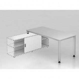 Büro Schreibtisch zur Auflage auf Sideboard 160x80 cm Modell QSE16