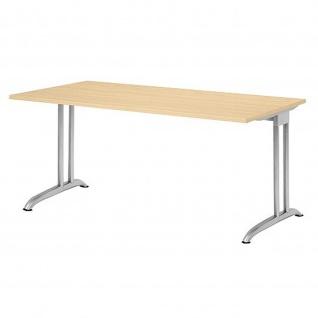 Hammerbacher Büro Schreibtisch 160x80 cm Modell BS16